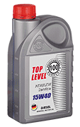 Top Level <br> 15W-40 Diesel
